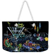 Lounge Lizard Weekender Tote Bag