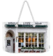 Lou's Of Hanover New Hampshire Weekender Tote Bag