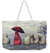 Lousy Weather Weekender Tote Bag