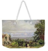Louveciennes Weekender Tote Bag by Camille Pissarro