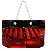 Louvered Hood Weekender Tote Bag