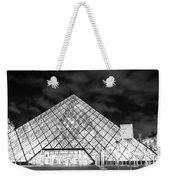 Louvre Museum Bw Weekender Tote Bag