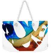 Love 6 - Heart Hearts Valentine's Day Weekender Tote Bag