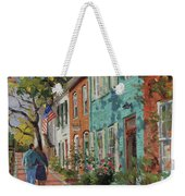Love Along The C@o Canal Weekender Tote Bag