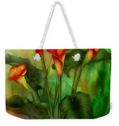 Love Among The Lilies  Weekender Tote Bag