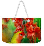 Love Among The Poppies Weekender Tote Bag