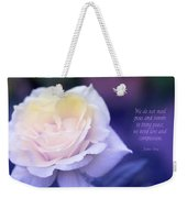Love And Compassion Weekender Tote Bag