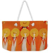 Love And Five Opinions Weekender Tote Bag