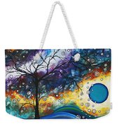 Love And Laughter By Madart Weekender Tote Bag by Megan Duncanson
