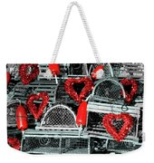 Love And Lobster Weekender Tote Bag