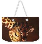 Love And Pride Giraffes Weekender Tote Bag