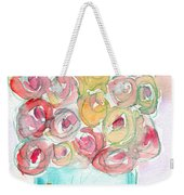 Love And Roses- Art By Linda Woods Weekender Tote Bag