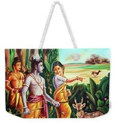 Love And Valour- Ramayana- The Divine Saga Weekender Tote Bag