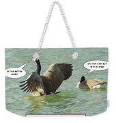 Love At First Flight Weekender Tote Bag