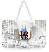 Love Weekender Tote Bag by Bill Cannon