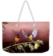 Love Birds By John Junek  Weekender Tote Bag