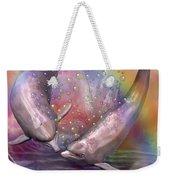 Love Bubbles Weekender Tote Bag