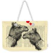 Love Camels Weekender Tote Bag