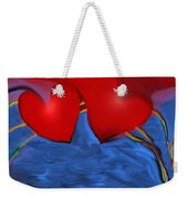 Love Flow Weekender Tote Bag