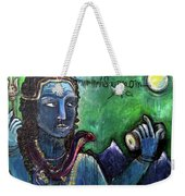 Love For Shiva Weekender Tote Bag