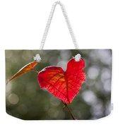 Love Heart Weekender Tote Bag