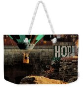 Love Hope And A Hot Air Balloon Weekender Tote Bag