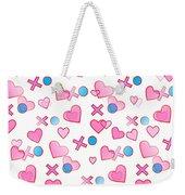Love Hugs And Kisses Weekender Tote Bag