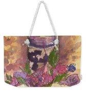 Love In Lavender Between The Lines Weekender Tote Bag