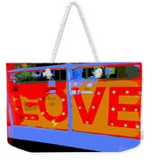 Love  In Lights Weekender Tote Bag