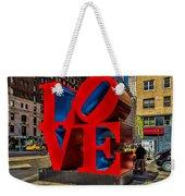 Love In Nyc Weekender Tote Bag