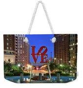 Love In Philadelphia Weekender Tote Bag