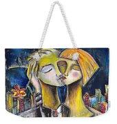Love In The City Weekender Tote Bag