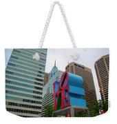 Love In The City - Philadelphia Weekender Tote Bag