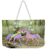 Love In The Magical Forest Weekender Tote Bag