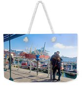 Love In The Port Of Valpaparaiso-chile Weekender Tote Bag