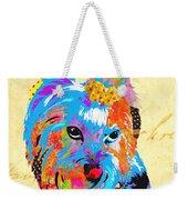 Love Is In The Dog's Eyes  Weekender Tote Bag