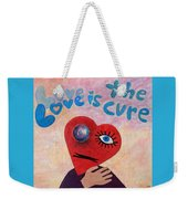 Love Is The Cure Weekender Tote Bag