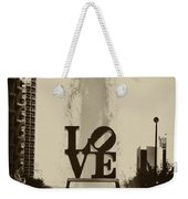 Love Love Love Weekender Tote Bag by Bill Cannon