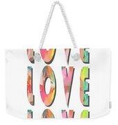 Love Love Love Phone Case Weekender Tote Bag