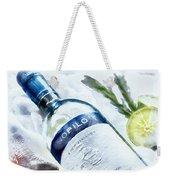 Love My Wine Weekender Tote Bag by Pennie  McCracken