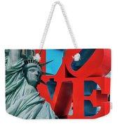 Love New York Weekender Tote Bag