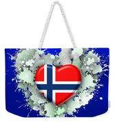 Love Norway 2 Weekender Tote Bag