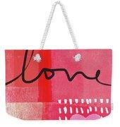 Love Notes- Art By Linda Woods Weekender Tote Bag