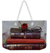 Love Of Books Weekender Tote Bag