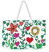 Love On The Vine Weekender Tote Bag