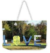 Love - Petersburg Weekender Tote Bag