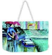 Love Rain Weekender Tote Bag