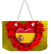 Love Spain Weekender Tote Bag