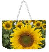 Love Sunflowers Weekender Tote Bag