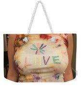 Love Tank Top Weekender Tote Bag